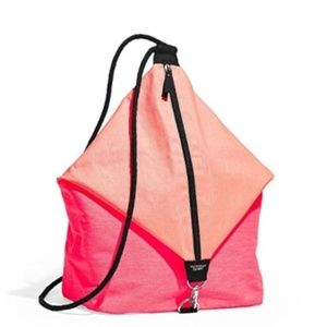 *A573 Victoria's Secret Sling Bag Pink And Orange